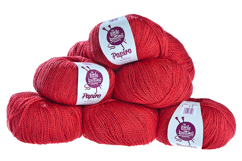 100% cotton - poppy 50g