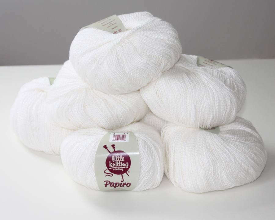100% cotton - bright white 50g