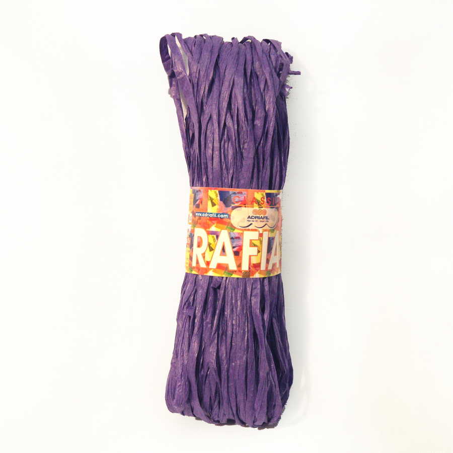 Rafia - purple 75 25g