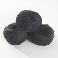 Summer Linen - black marl 50g