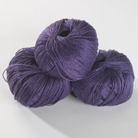 Summer Linen - royal purple 50g
