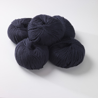 100% Extra Fine Merino Wool - aubergine 50g - Click Image to Close