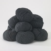 100% Extra Fine Merino Wool - graphite 250g - Click Image to Close