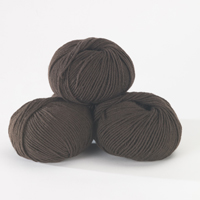 100% Extra Fine Merino Wool - chocolate 50g