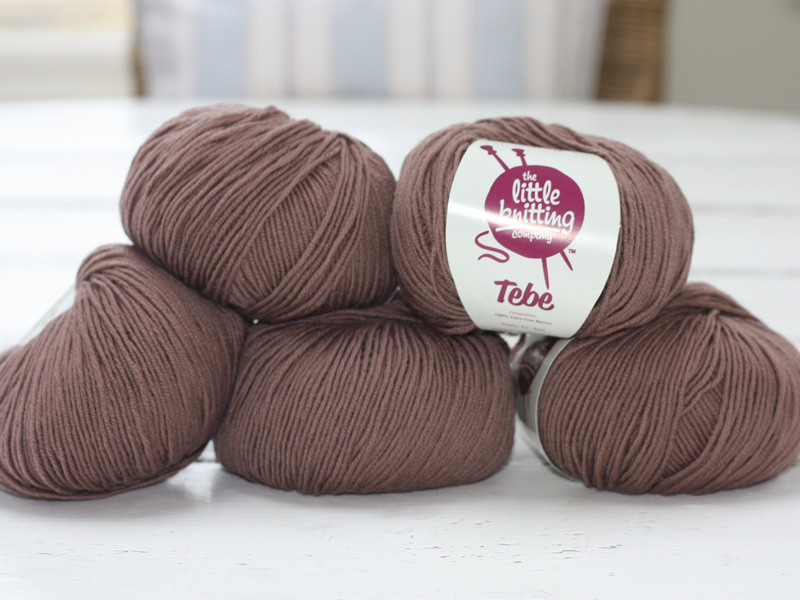 100% Extra Fine Merino Wool - chocolate mousse 50g