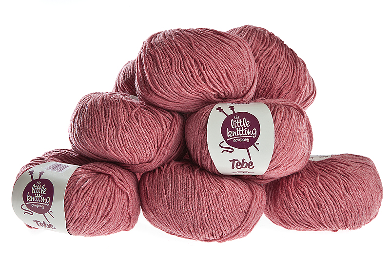 100% Extra Fine Merino Wool - damask rose 50g - Click Image to Close