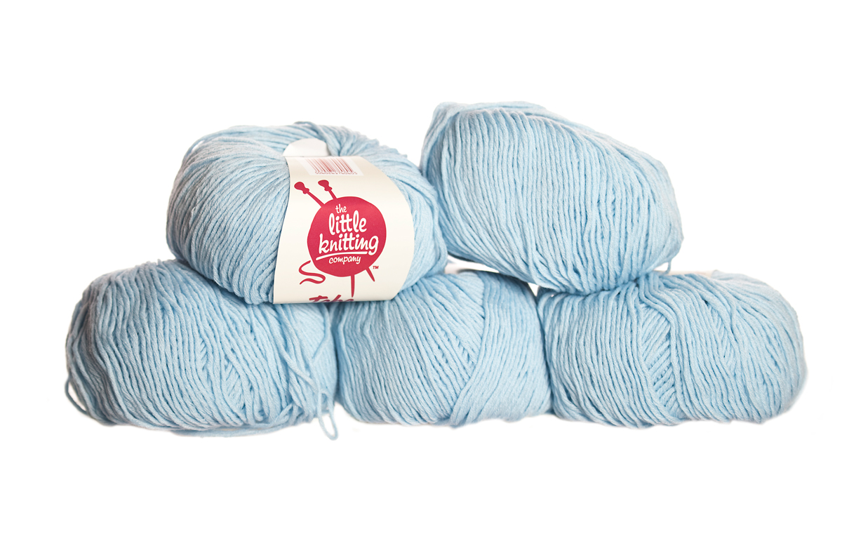 100% Extra Fine Merino Wool - dream blue 50g