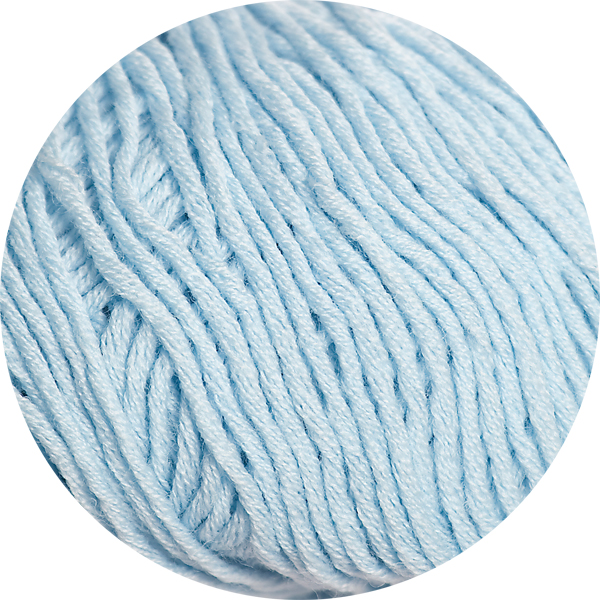 100% Extra Fine Merino Wool - dream blue 50g - Click Image to Close