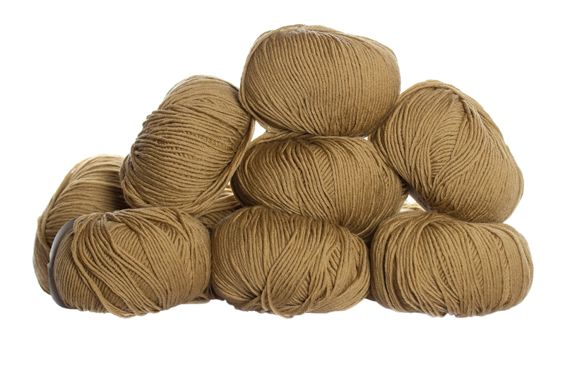 100% Extra Fine Merino Wool - dark olive 50g - Click Image to Close
