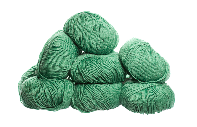 100% Extra Fine Merino Wool - shamrock 50g - Click Image to Close