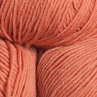 100% Extra Fine Merino Wool - soft terracotta 50g - Click Image to Close