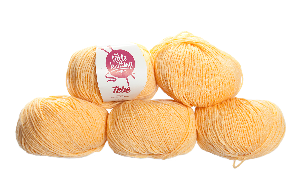 100% Extra Fine Merino Wool - sunshine 50g - Click Image to Close