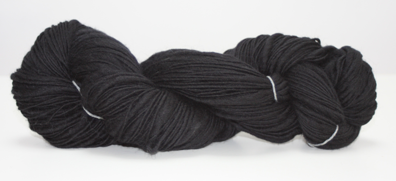 Tooti Fruiti - 100% Virgin Merino Wool - Black 100g