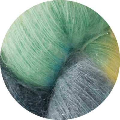50% Superfine Kid Mohair - beach hut 100g
