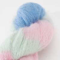 50% Superfine Kid Mohair - candy floss 100g