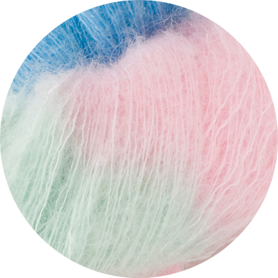 50% Superfine Kid Mohair - candy floss 100g - Click Image to Close